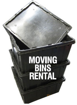 moving bin rental